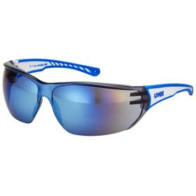 UVEX sportstyle 204 Bike Glasses blue/white